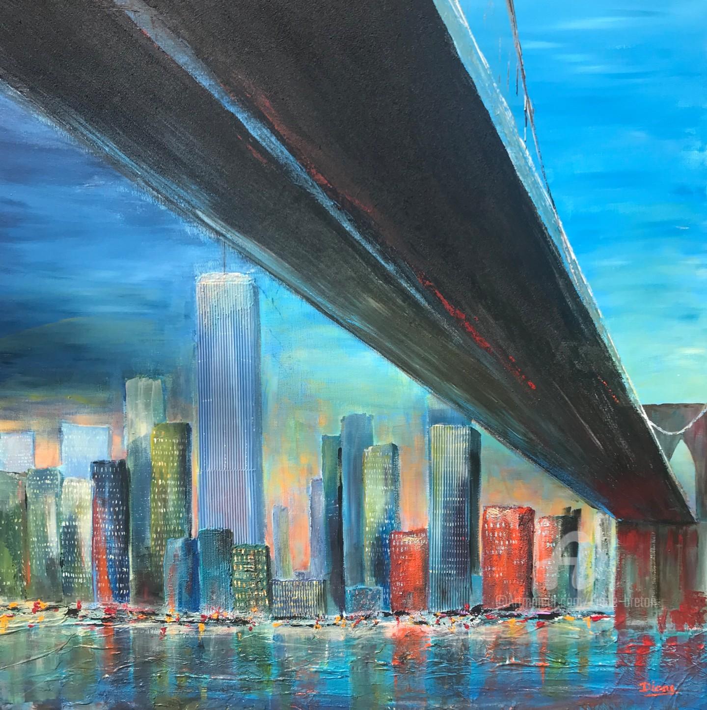 Diane - Pont de Brooklyn-New York