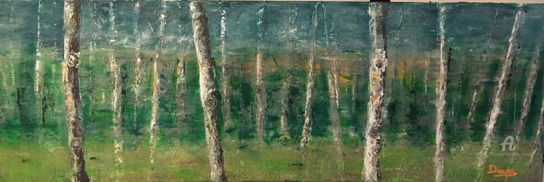 Diane - Forêt de bouleaux