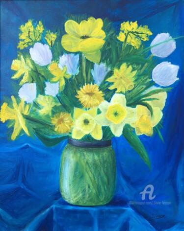Le bouquet bleu
